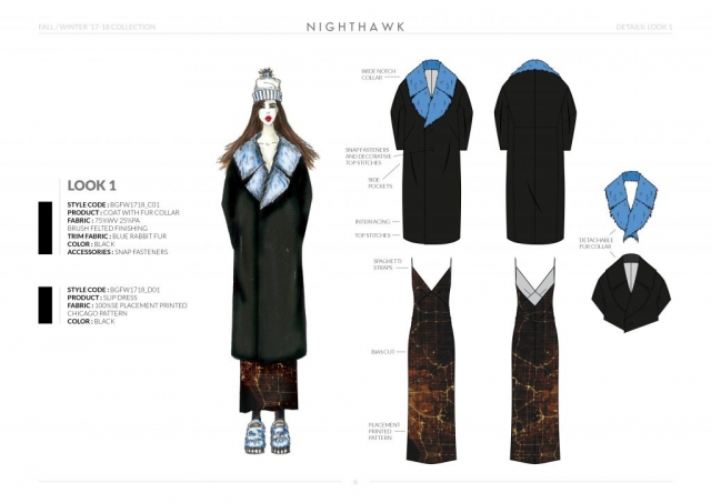 Fall-Winter-17-18 Collection Details: Look 1