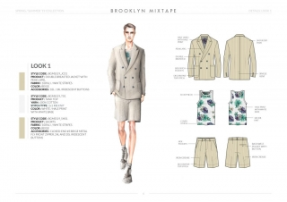 Spring-Summer-19 Mens Collection Details: Look 1