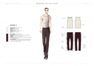 Spring-Summer-19 Mens Collection Details: Look 4