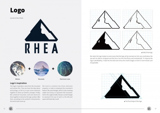 Rhea Project - Mountain Search and Rescue Outfit Designs - Logo