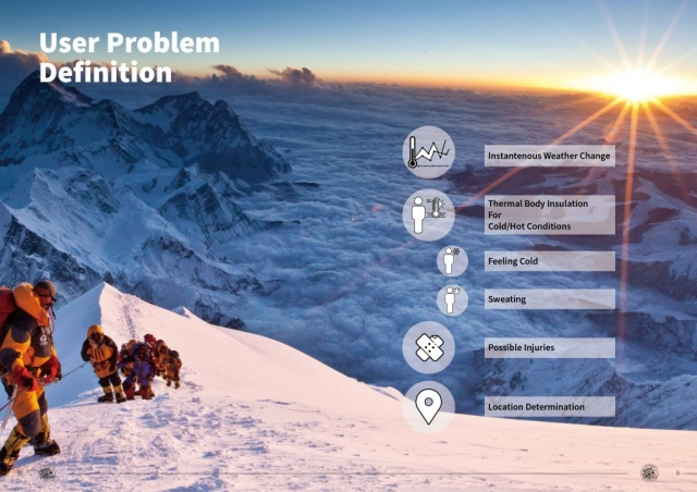 Rhea Project - Mountain Search and Rescue Outfit Designs - User Problem Definition