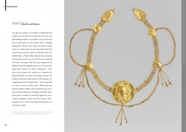 Harness: Highlighted Silhouettes - Jewelry Masters Thesis - Research