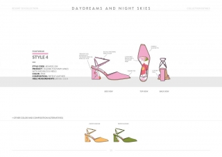 Resort-20 Womens Footwear Collection Details: Style 4