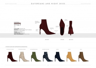 Resort-20 Womens Footwear Collection Details: Style 9