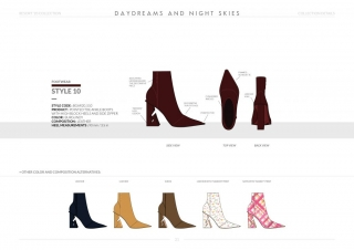 Resort-20 Womens Footwear Collection Details: Style 10
